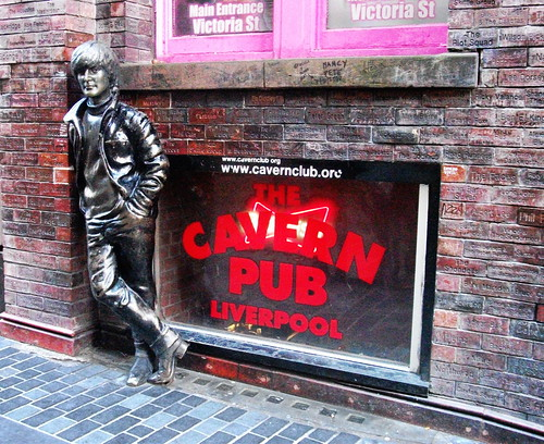 John Lennon at The Cavern