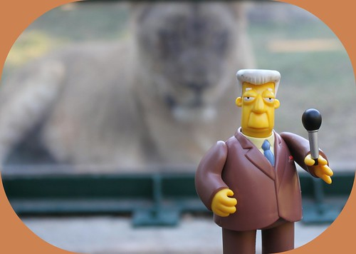 Kent Brockman From the Houston Zoo