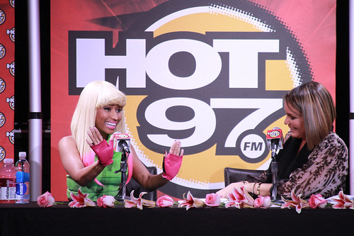 HOT 97's VIP Lounge Featuring- Nicki Minaj. SIR Studio. NYC. 11.18.10-3
