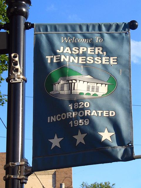 Jasper, TN sign