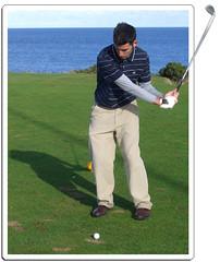 Jacob in Scotland (erikrasmussen) Tags: broken photoshop golf scotland break fife jacob swing frame lefty framing kingsbarns brokenframe framebreak framebreaking