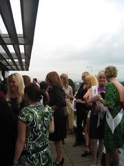 Trannies on the Balcony (Jo Angel) Tags: uk party june manchester tv village glbt sparkle transgender celebration tranny transvestite ts 2007 axm sparkle07