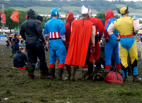 Even super heroes need a day off