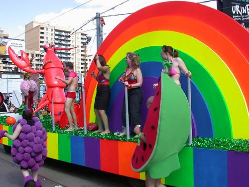 Gay Pride Parade, Toronto, June 2004