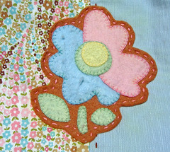 Felt Applique after