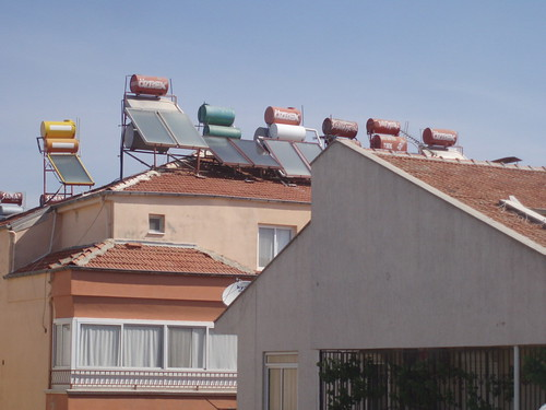 Solar Water Heaters in Didim
