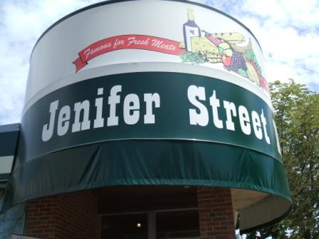 Jenifer St. Market sign