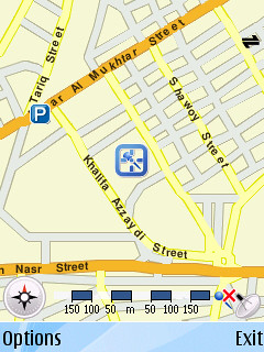 Nokia N95 + GPS (working good in Tripoli-Libya)