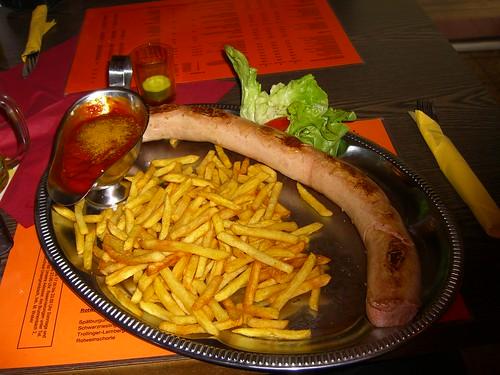 Riesencurrywurst I