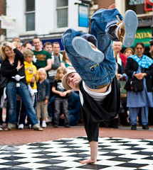 Street Entertainer, Dublin (C) 2007