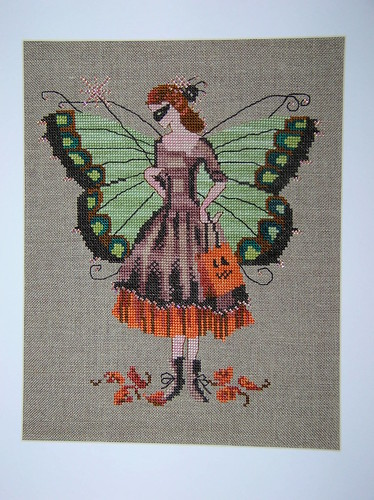 Finished Halloween Fairy