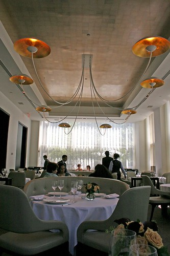 Interior of Jean Georges' Formal Dining Room