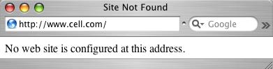 www.Cell.com got DDoS