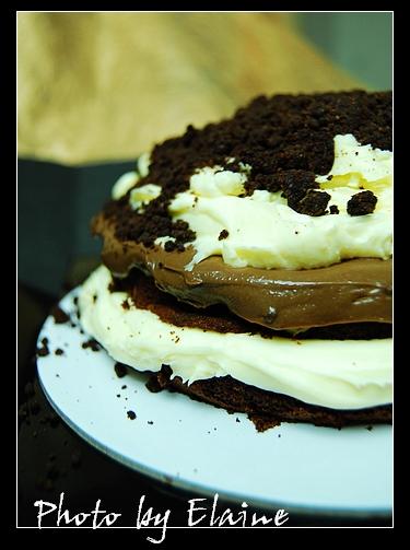 起司巧克力蛋糕2