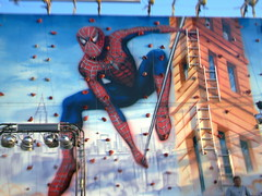 Spiderman Wall (dalzieljacob) Tags: things