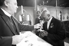 CalNoelwed111 (tafcooper) Tags: family gay wedding men love church jumping support jerseycity catholic ceremony nj marriage august noel calvin lgbt newborn license africanamerican jamaican vows broom professionals equality 2007 civilunion hokoken