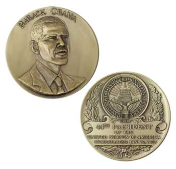 Obama Medallion