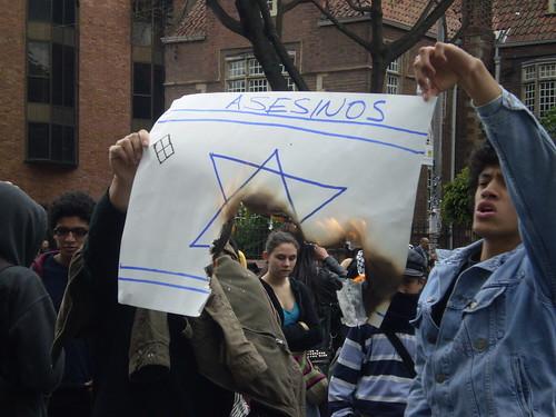 Marcha apoyo a Palestina / Gaza en Bogotá, Colombia - 20090106 - 1061812