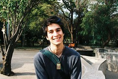 Pablo Poulain (Pablo Poulain) Tags: chile gay santiago man male men field analog 35mm de lens skinny reflex concert zoom widescreen pablo young panasonic tele homosexual mm 35 169 depth dmc zr1 poulain anloga 1280x720 teleobjetivo icei univerisdad pablopoulain dmczr1 poulainfandubs