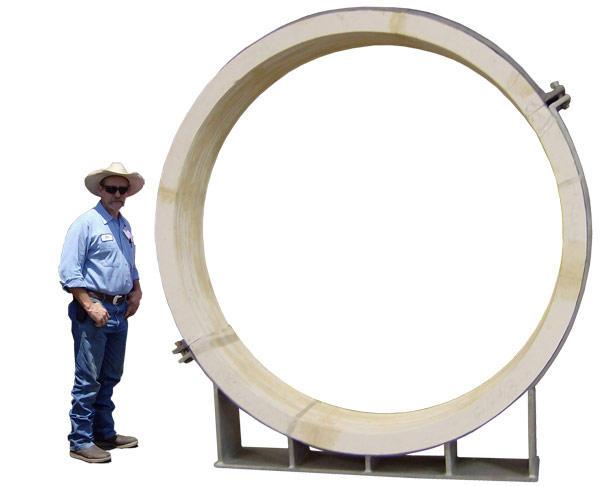 "84"" Pre-Insulated Pipe Support for High Temperatures"