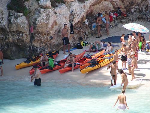 Vuelta a Menorca en kayak 14