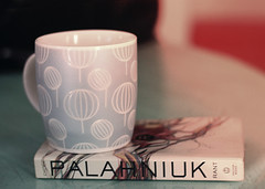 Coffee and Palahniuk (Helga Weber) Tags: coffee rant palahniuk chuckpalahniuk fakefilm fakey