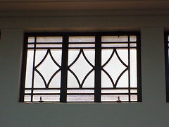 Window, AMP Building, Napier