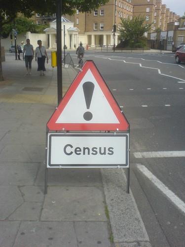 Danger! Census!