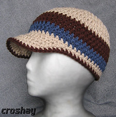Brimmed Beanie @Craftzine.com blog - Daily source of DIY craft