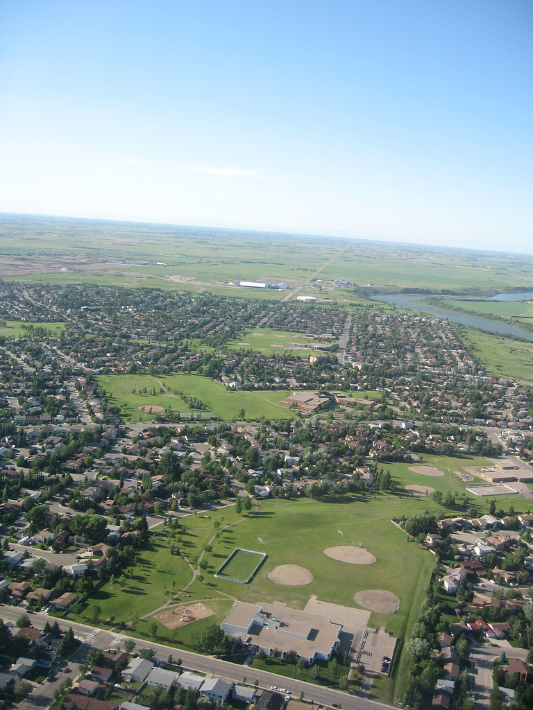Saskatoon, I can see where my parents live