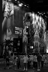 ストリートアートと街を利用したうまい広告