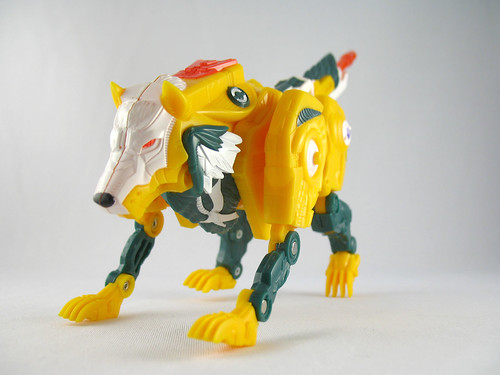 Botcon 2007 Weirdwolf (alt mode)