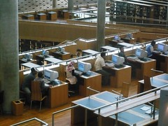 internet users at Library of Alexandria