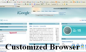 Click Here to see My customized Browser