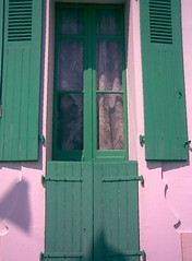 "Window in Green"" (manu/manuela) Tags: ocean houses windows house france verde green beach architecture casa vert shutters maison plage volets vende atlantique sablesdolonne  ocanatlantique tapparelle"