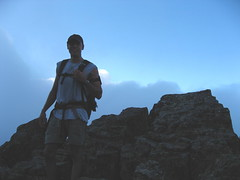 GQ hiker Tinkham summit