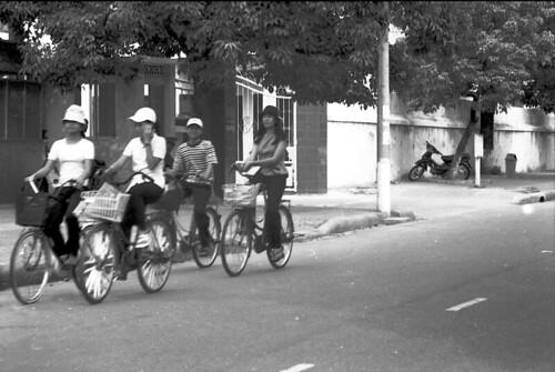 Teens on Bikes - Hue
