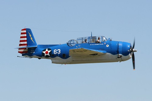 Warbird picture - Eastern built (General Motors) TBM-3E  'Avenger'