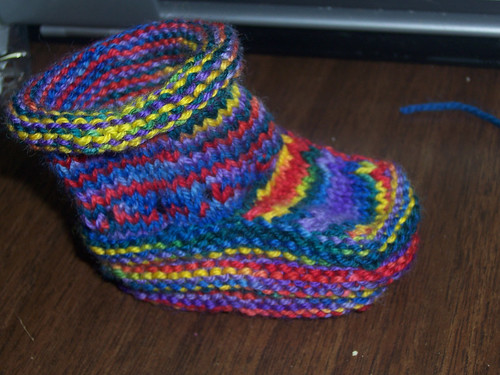 Finished 1 Bootie