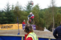 UCIFtBillDH04 (wunnspeed) Tags: scotland europe mountainbike downhill worldcup fortwilliam uci