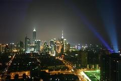 Shanghai skyline (Michael VIEH) Tags: skyline night shanghai top20flickrskylines