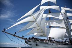 Sailing Close (Bruno Girin) Tags: race baltic mexican tallships barque cuauhtemoc tallshipsracesbaltic2007