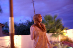 katie (ally millar) Tags: sunset arizona portrait color girl nikon vivid d40