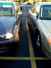 WTF!  This person parked way too close to me