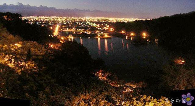 梅花湖夜景