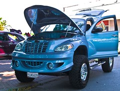 Chrysler, PT Cruiser (Keith Lovelady's Photography) Tags: blue cars car wheel 4x4 wheels tires ptcruiser chrysler 4wheeldrive chryslerptcruiser ptcruiserchrysler