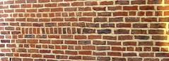 Edge dislocation illustrated in brick