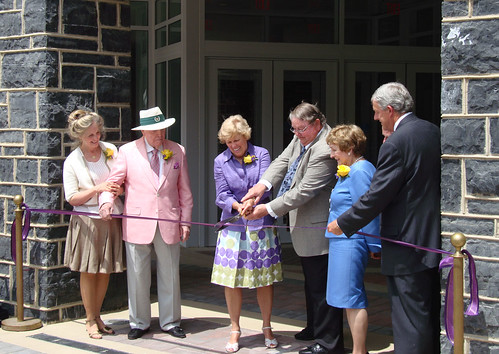 Forbes Center Dedication - Ribbon Cutting