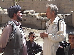 ig with mullah (The Advocacy Project) Tags: afghanistan children iain guest mullah