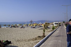 Beach at Kusadasi, Turkey